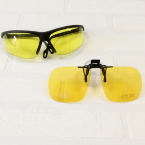 clip + lunettes conduite de nuit